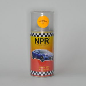 NPR Spray Paint 300 Cc Fluorescent Red Orange 806