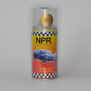 NPR Spray Paint 300 Cc Gold 660