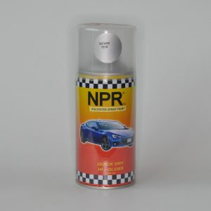 NPR Spray Paint 300 Cc Polyester Silver 1030