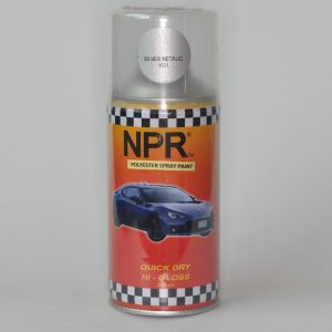 NPR Spray Paint 300 Cc Polyster Silver Metalic 1031