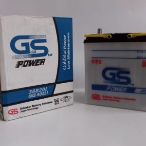 GS Power Accu Aki Basah Mobil NS-40 ZL 12 V 35 Ah